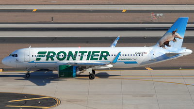 A picture of N364FR - Airbus A320251N - Frontier Airlines - © Jason Whitebird