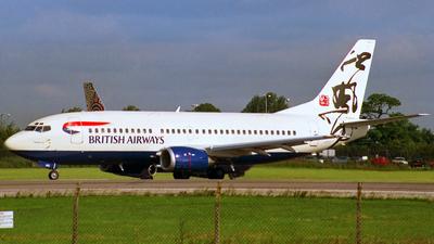 G-OAMS - Boeing 737-37Q - British Airways