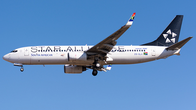 ZS-SJV - Boeing 737-844 - South African Airways