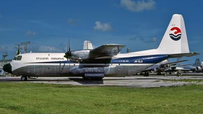 J6-SLO - Lockheed L-100-20 Hercules - St Lucia Airways