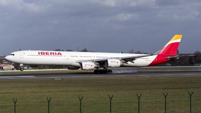 EC-IQR - Airbus A340-642 - Iberia