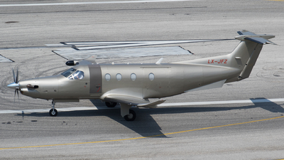 LX-JFZ - Pilatus PC-12/47E - Jetfly Aviation