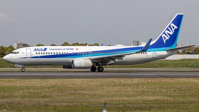 A picture of JA52AN - Boeing 737881 - All Nippon Airways - © Tokubee