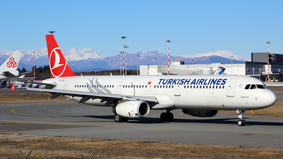 TC-JRV - Airbus A321-231 - Turkish Airlines