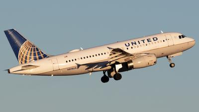 N818UA - Airbus A319-131 - United Airlines