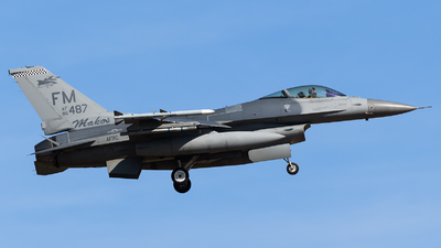 85-1487 - Lockheed Martin F-16C Fighting Falcon - United States - US Air Force (USAF)