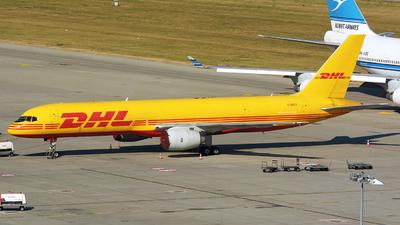 G-BIKV - Boeing 757-236(SF) - DHL Air