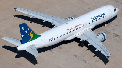 H4-BUS - Airbus A320-211 - Solomon Airlines