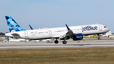 N2017J - Airbus A321-271NX - jetBlue Airways