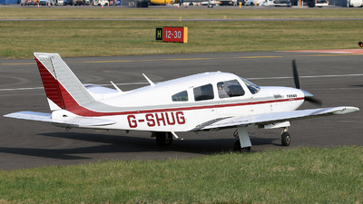 G-SHUG - Piper PA-28R-201T Turbo Cherokee Arrow III - Private