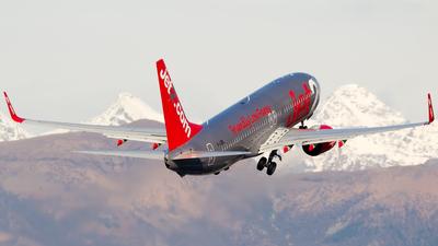 G-JZBL - Boeing 737-8MG - Jet2.com
