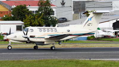 N704 - Beechcraft 200 Super King Air - Guatemala - Air Force