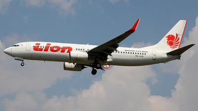 PK-LPQ - Boeing 737-8GP - Lion Air