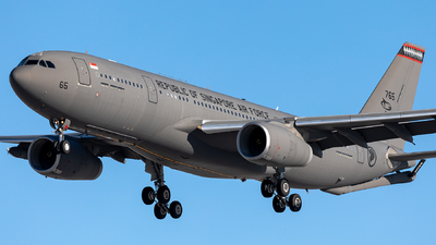 765 - Airbus A330-243(MRTT) - Singapore - Air Force