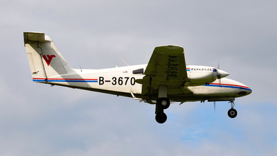 B-3670 - Piper PA-44-180 Seminole - Civil Aviation Flight University of China
