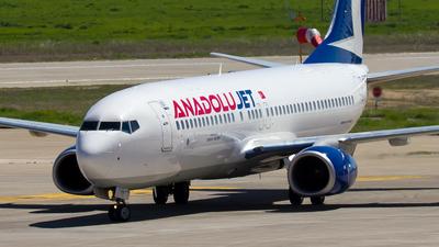 A picture of TCSCD - Boeing 7378Q8 - Turkish Airlines - © Mustafa Sandikci