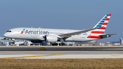 A picture of N800AN - Boeing 7878 Dreamliner - American Airlines - © Haocheng Fang