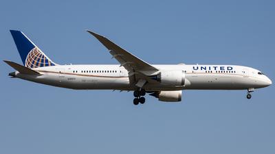 A picture of N26970 - Boeing 7879 Dreamliner - United Airlines - © Oliver Sänger