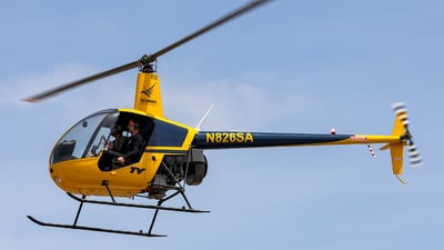 N826SA - Robinson R22 Beta - Silverhawk Aviation Academy