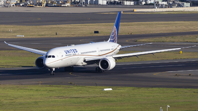 A picture of N29968 - Boeing 7879 Dreamliner - United Airlines - © MQ1131