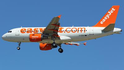 G-EZAJ - Airbus A319-111 - easyJet