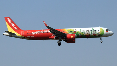 A picture of VNA607 - Airbus A321271N - VietJet Air - © NRT Spotter