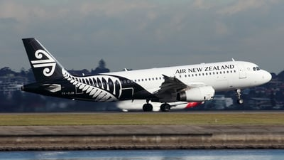 ZK-OJB - Airbus A320-232 - Air New Zealand