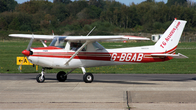 G-BGAB - Reims-Cessna F152 II - TG Aviation