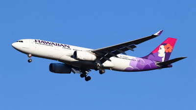 A picture of N396HA - Airbus A330243 - Hawaiian Airlines - © Seo Masuda