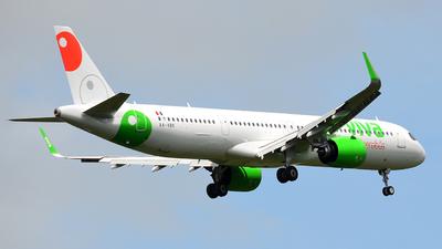 A picture of XAVBK - Airbus A321271NX - VivaAerobus - © Mike Garcia Roman (MAS Aviation Press)