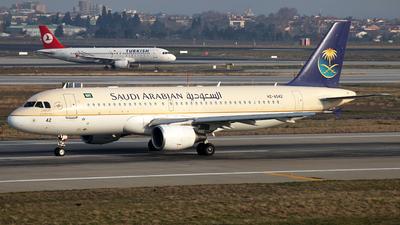 HZ-AS42 - Airbus A320-214 - Saudi Arabian Airlines