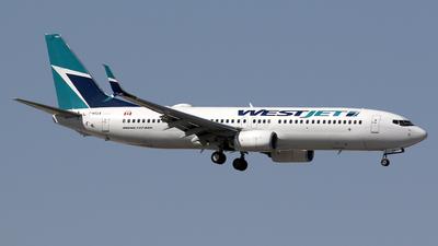 C-GWUX - Boeing 737-8CT - WestJet Airlines