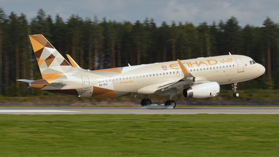 A6-EIU - Airbus A320-232 - Etihad Airways