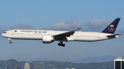 HZ-AK40 - Boeing 777-3FGER - Saudi Arabian Airlines