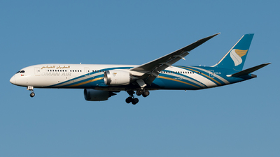 A picture of A4OSI - Boeing 7879 Dreamliner - Oman Air - © Paolo Zonca