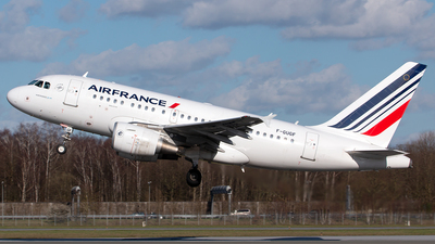 A picture of FGUGF - Airbus A318111 - Air France - © Lennart Boettcher