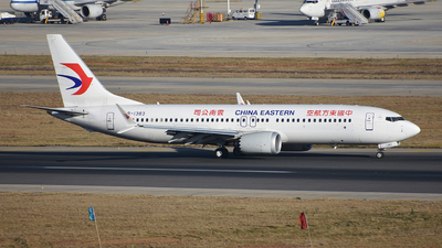 B-1383 - Boeing 737-8 MAX - China Eastern Airlines