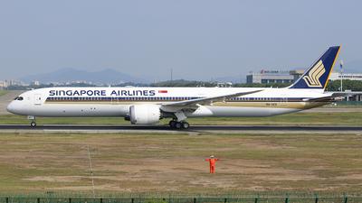 9V-SCE - Boeing 787-10 Dreamliner - Singapore Airlines