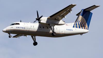 A picture of N366PH - De Havilland Canada Dash 8200 - [510] - © Wenjie Zheng