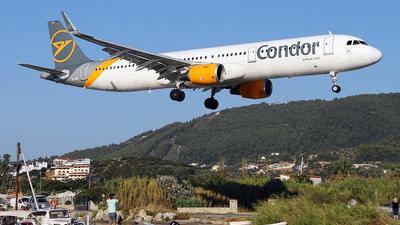 A picture of DAIAF - Airbus A321211 - Condor - © John Ballantyne