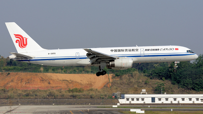 A picture of B2855 - Boeing 7572Z0(PCF) - Air China Cargo - © BCG554