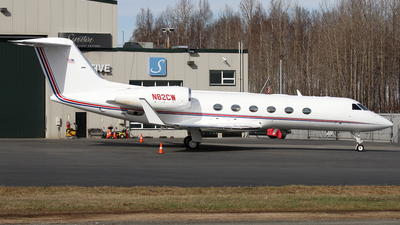 N82CW - Gulfstream G350 - Private