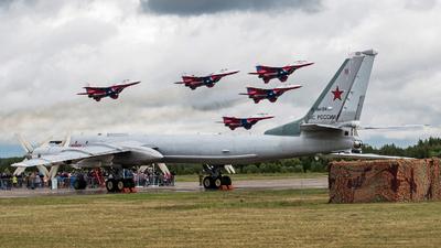 RF-94124 - Tupolev Tu-95MS Bear-H - Russia - Air Force