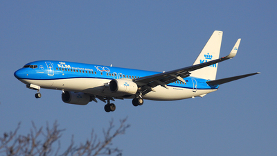 A picture of PHBGC - Boeing 7378K2 - KLM - © Michael Eaton