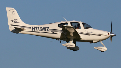 N119WZ - Cirrus SR22 - Private