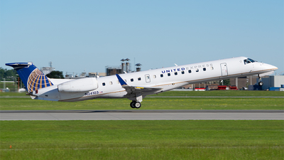 A picture of N24103 - Embraer ERJ145XR - United Airlines - © RZ