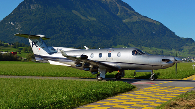 A picture of HBFOW - Pilatus PC12/45 - [411] - © Jeremy Denton