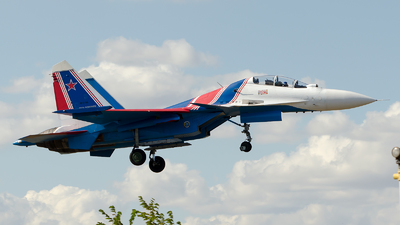 RF-81704 - Sukhoi Su-30SM - Russia - Air Force