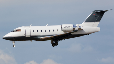 OE-ITH - Bombardier CL-600-2B16 Challenger 604 - Private