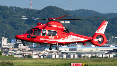 JA210F - Airbus Helicopters H155 B1 Dauphin - Japan - Osaka Municipal Fire Department